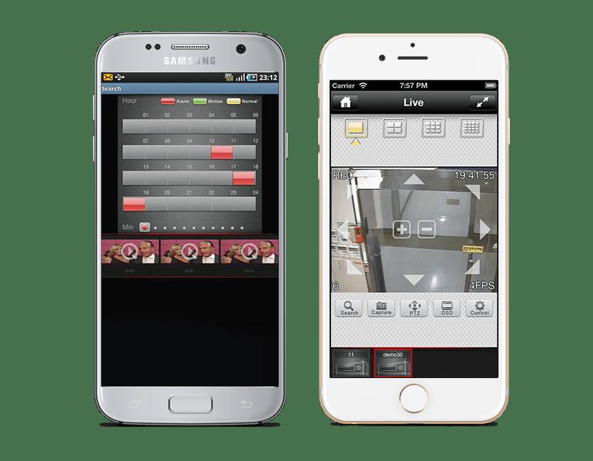 Intruder Alarms Mobile App
